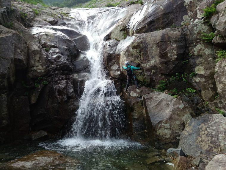 中ゼン手前の滝