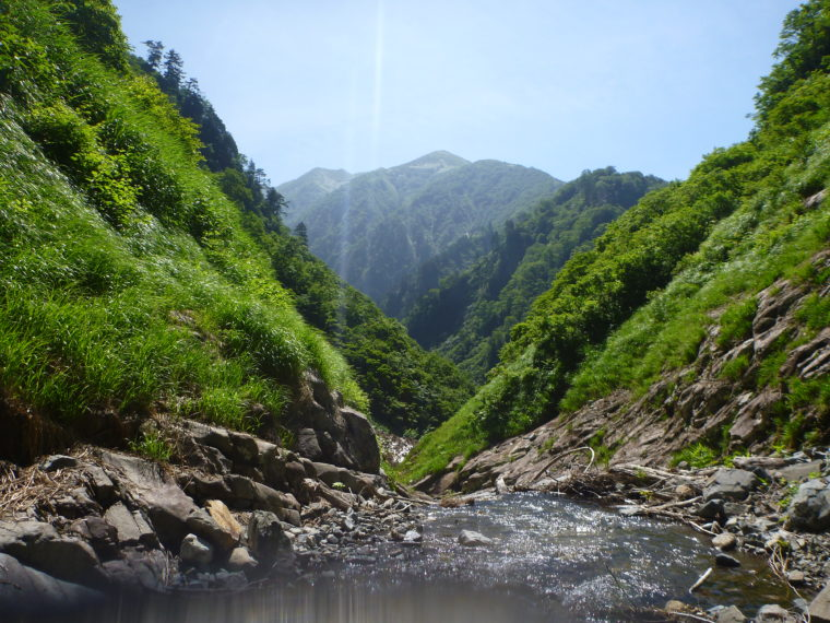 晴れの湯檜曽川