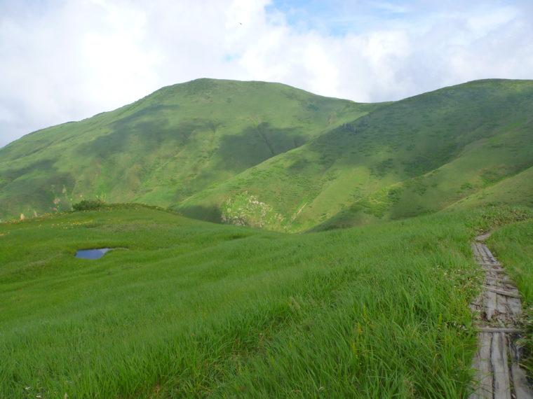 割引岳~巻機山