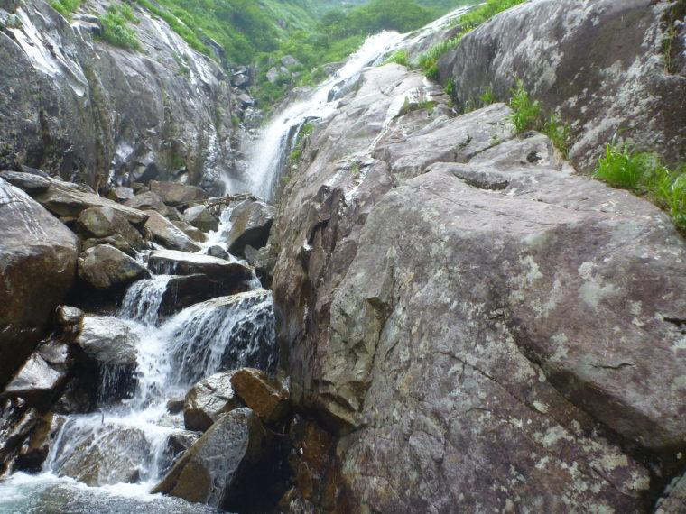 大滝手前の滝