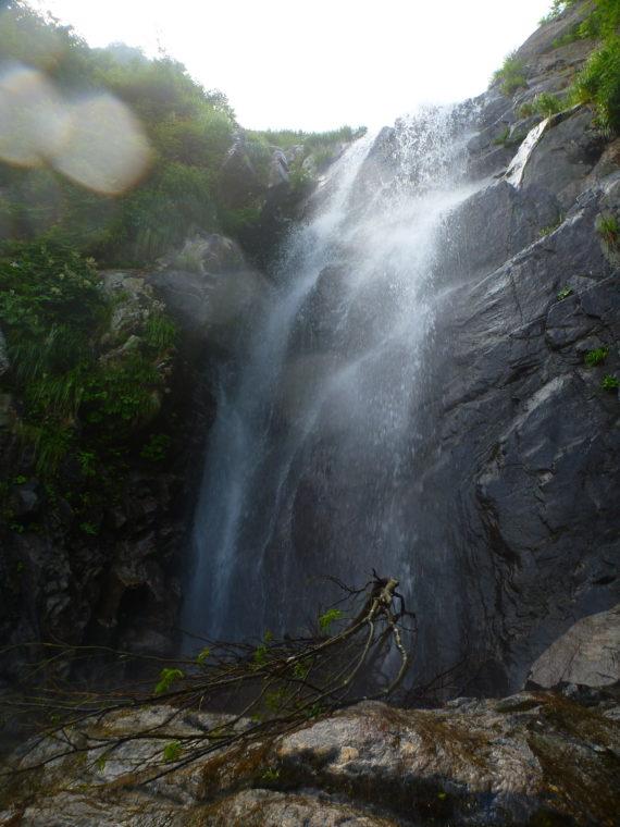 大滝2段目