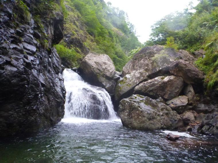 2段5m滝