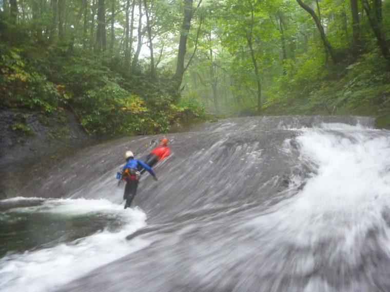 スライダー滝