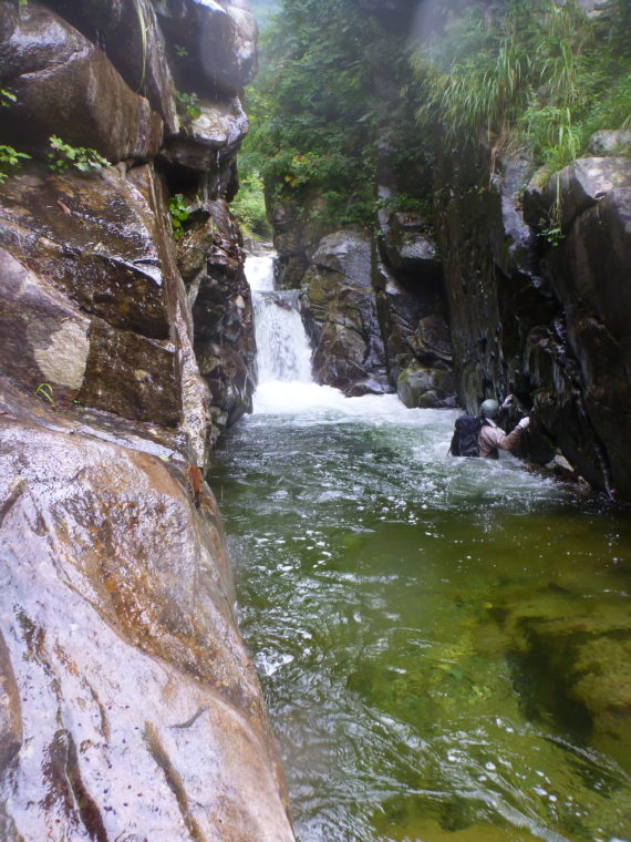 2段4m滝