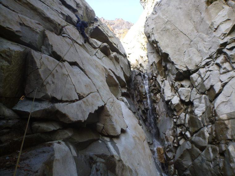幻の滝登攀