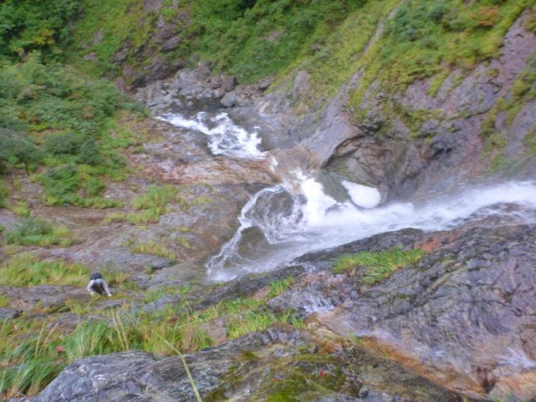 カグラ滝1Pめ