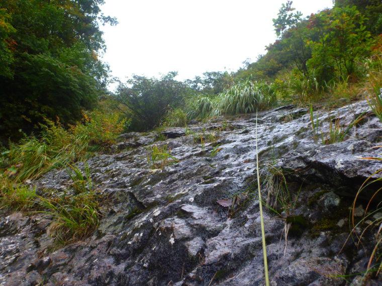カグラ滝登攀中
