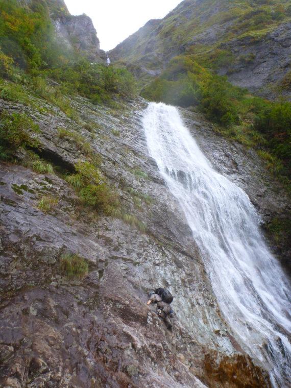 30mナメ滝