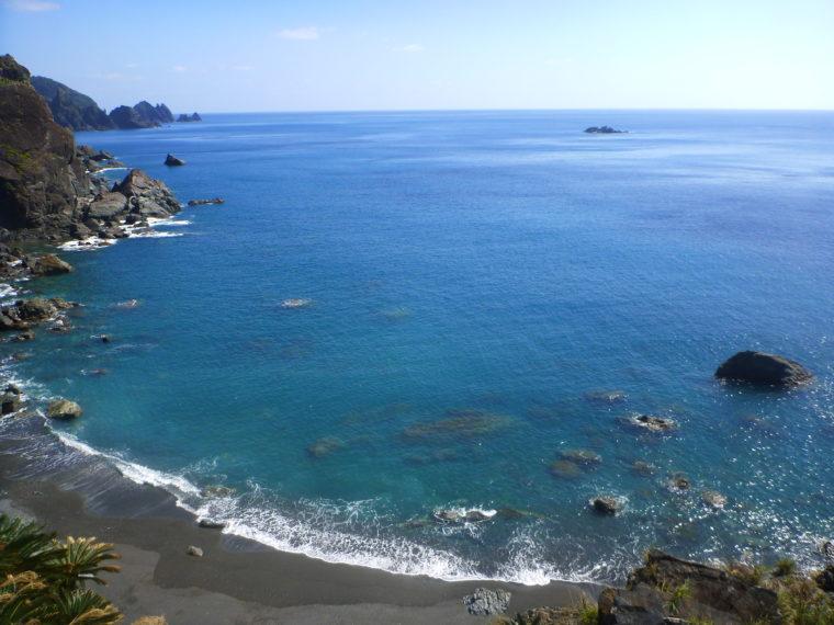 奄美の青い海