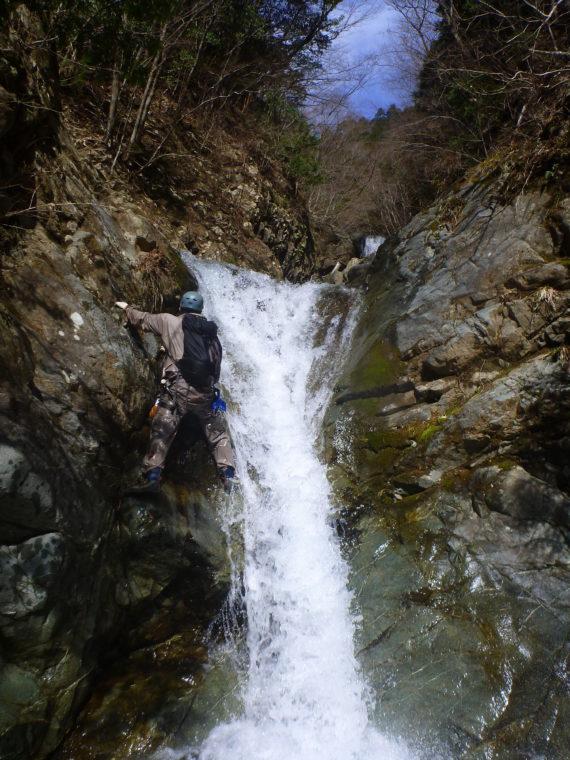 二段滝上段